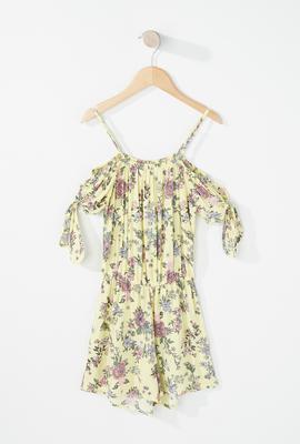 girls fashion floral dress